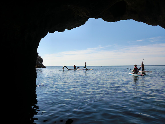 SUP Yoga session Algarve