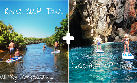 River SUP tour and Coastal SUP trip