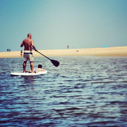 SUP boarding river Aljezur