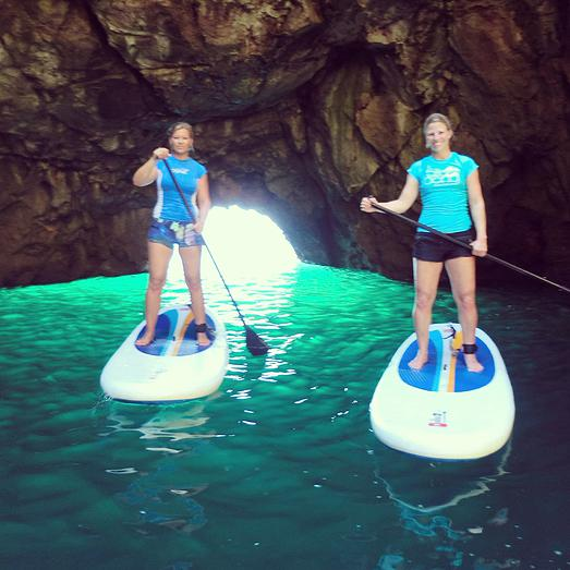 stand-up paddle boarding tour Algarve