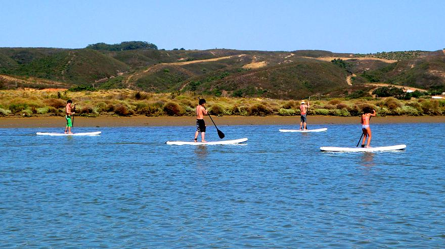 Stand-up paddle boarding Algarve trips