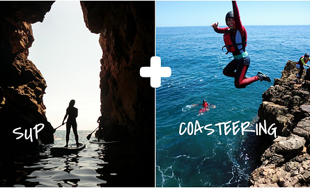 SUP and Coasteering tour Algarve