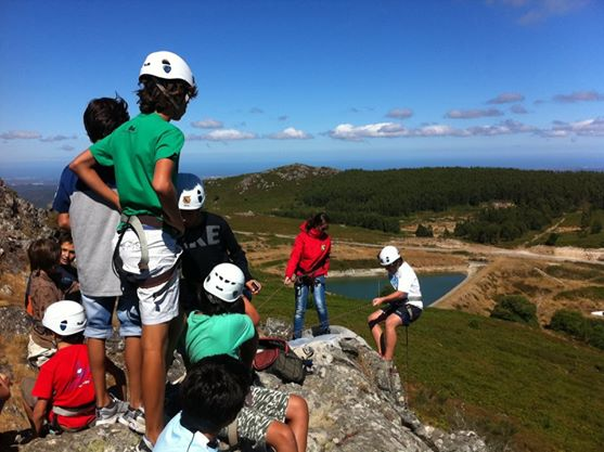 climbing and abseiling Algarve