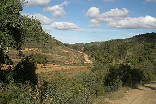 Algarve, the countryside, the serra