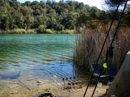 carp fishing Algarve