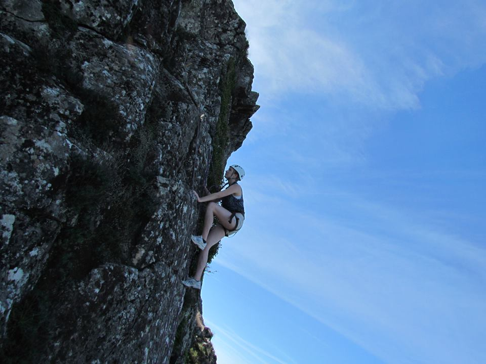 climbing serra de Monchique