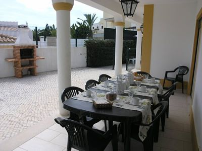 Casa Olival, outside dining area