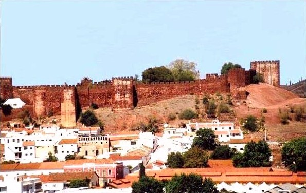 town of silves, Algarve